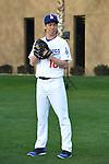 Kenta Maeda (Dodgers),<br /> FEBRUARY 27, 2016 - MLB :<br /> Los Angeles Dodgers Photo Day in Glendale, Arizona, United States. (Photo by AFLO)