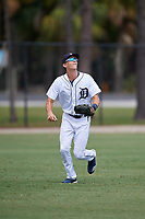 Detroit Tigers left fielder Ulrich Bojarski (30) during an Instructional League instrasquad game on September 20, 2019 at Tigertown in Lakeland, Florida.  (Mike Janes/Four Seam Images)