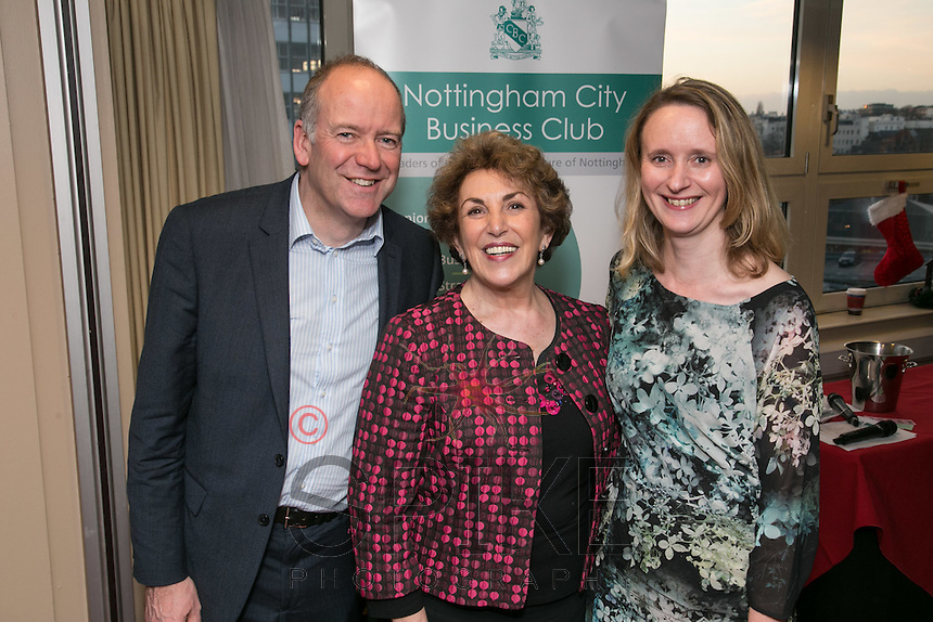 David Stewart of InResidence, Edwina Currie and Sasha Stewartof Straght Talk PR