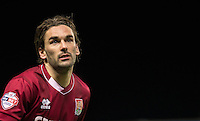 Ricky Holmes of Northampton Town during the Sky Bet League 2 match between Oxford United and Northampton Town at the Kassam Stadium, Oxford, England on 16 February 2016. Photo by Andy Rowland.
