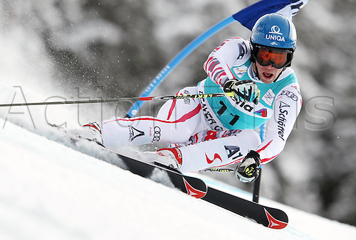 04.12.2011. Beaver Creek Colorado USA Ski Alpine FIS World Cup Giant slalom the men Picture shows Benjamin Raich AUT