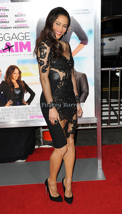 "Paula Patton at the Los Angeles Premiere of ""Baggage Claim Premiere"" held at Regal Cinemas L. A. LIVE on September 25, 2013"