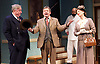 Harvey<br /> by Mary Chase <br /> at Birmingham Rep Theatre, Birmingham, Great Britain <br /> Press photocall <br /> 11th February 2015<br /> <br /> <br /> James Dreyfus as Elwood P Dowd <br /> <br /> Maureen Lipman as Veta Louise Simmons <br /> <br /> <br /> <br /> Desmond Barrit as Judge Omar Gaffney <br /> <br /> <br /> <br /> Directed by Lindsey Posner<br /> <br /> <br /> Photograph by Elliott Franks