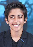 HOLLYWOOD, LOS ANGELES, CA, USA - MAY 28: Karan Brar at the World Premiere Of Disney's 'Maleficent' held at the El Capitan Theatre on May 28, 2014 in Hollywood, Los Angeles, California, United States. (Photo by Xavier Collin/Celebrity Monitor)