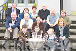 5370- 5375.PILGRIMS : Abbeydorney and Kilflynn residents who headed off from St Mary's Church, Kilflynn, on a pilgrimage to Fatima on Thursday. Front row l-r: Paul Beirne, Nathan and JP O'Brien. 2nd row l-r: Michael O'Brien, Nora O'Sullivan, Sheila O'Brien and Ann Nolan. Back row l-r: Tony O'Callaghan, Liz Beirne, Genm O'Brien, Brother Michael Neenan OP, Michael Falvey and Mary Falvey.. .