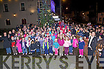 Christmas Lights - A huge crowd Gathered by The Station House, Blennerville on Friday night to see the Christmas lights turned on and to get into the spirit with carols sang by the students of Blennerville NS...................................................................................................................................................................................................................................................................................................................................................................................................................................................................................................................................................................................................................... ........................