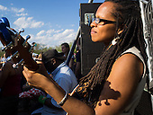 This Is Lea waits in the wings of The fifth annual Kingman Island Bluegrass Festival in Washington, DC. 26 April 2014 PHOTO/John Nelson