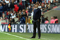 Tottenham manager Mauricio Pochettino during Tottenham Hotspur vs Leicester City, Premier League Football at Wembley Stadium on 13th May 2018