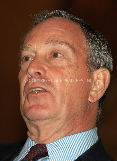 WWW.ACEPIXS.COM . . . . . ....NEW YORK, APRIL 25, 2005....Mayor Michael Bloomberg at a press briefing of the Homeland Security Council held at Grand Central Subway Terminal.....Please byline: KRISTIN CALLAHAN - ACE PICTURES.. . . . . . ..Ace Pictures, Inc:  ..Craig Ashby (212) 243-8787..e-mail: picturedesk@acepixs.com..web: http://www.acepixs.com