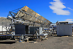 Solar energy scientific research centre, Tabernas, Almeria, Spain