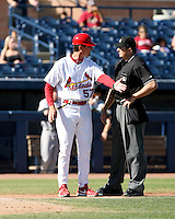 Ron Warner / manger of the Peoria Saguaros 2008 Arizona Fall League..Photo by:  Bill Mitchell/Four Seam Images