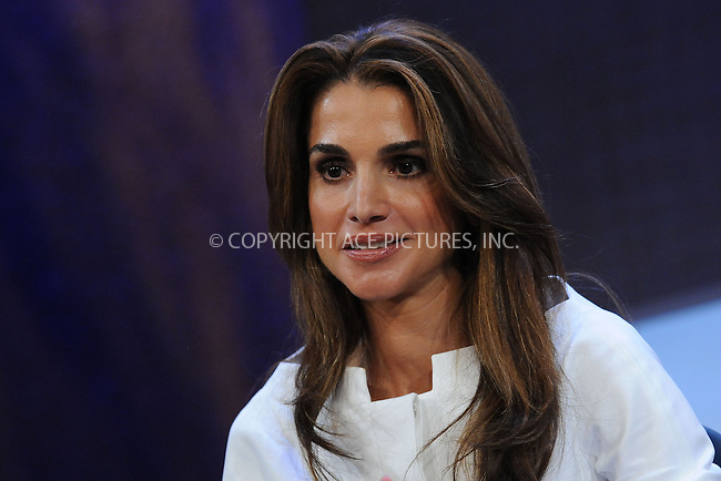 WWW.ACEPIXS.COM . . . . . ....September 24 2009, New York City....Queen Rania Al-Abdullah of Jordan at the Clinton Global Initiative on September 24 2009 in New York City....Please byline: KRISTIN CALLAHAN - ACEPIXS.COM.. . . . . . ..Ace Pictures, Inc:  ..tel: (212) 243 8787 or (646) 769 0430..e-mail: info@acepixs.com..web: http://www.acepixs.com