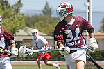 Orange, CA 05/01/10 - Nick Roessler (LMU # 31) in action during the LMU-Chapman MCLA SLC semi-final game in Wilson Field at Chapman University.  Chapman advanced to the final by defeating LMU 19-10.