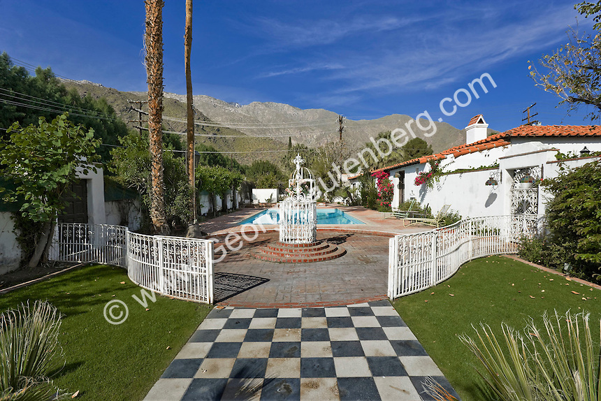Spanish style home in Palm Springs