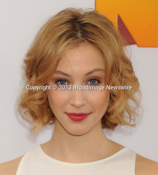 Pictured: Sarah Gadon<br /> Mandatory Credit &copy; Gilbert Flores/Broadimage<br /> The Nut Job - World Premiere<br /> <br /> 1/11/14, Los Angeles, California, United States of America<br /> <br /> Broadimage Newswire<br /> Los Angeles 1+  (310) 301-1027<br /> New York      1+  (646) 827-9134<br /> sales@broadimage.com<br /> http://www.broadimage.com