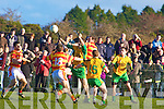 John Paul Brosnan Gneeveguilla Hugh Kelly N'town.Gneeveguilla defeated Newcestown 0-12 to 1-8 in the Munster Intermediate Club Football Semi Final at Gneeveguilla on Sunday.