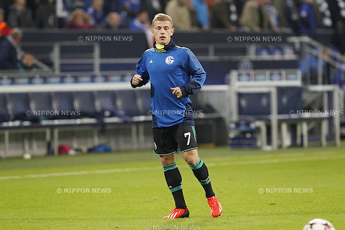 Max Meyer (Schalke), SEPTEMBER 18, 2013 - Football / Soccer : UEFA Champions League match between Schalke 04 and Steaua Bucharest at the Veltins-Arena in Gelsenkirchen, Germany, September 18, 2013. (Photo by AFLO)