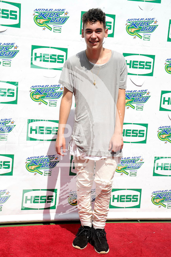 Alex Angelo attending Arthur Ashe Kids Day 2015 at the US Open at USTA Billie Jean King National Tennis Center on August 29, 2015 in New York City