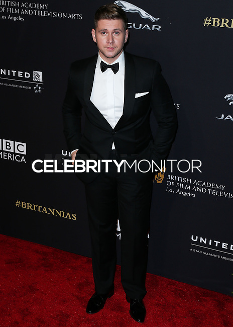 BEVERLY HILLS, CA, USA - OCTOBER 30: Allen Leech arrives at the 2014 BAFTA Los Angeles Jaguar Britannia Awards Presented By BBC America And United Airlines held at The Beverly Hilton Hotel on October 30, 2014 in Beverly Hills, California, United States. (Photo by Xavier Collin/Celebrity Monitor)