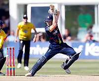 Sam Billings bats for Kent during the Vitality Blast T20 game between Kent Spitfires and Gloucestershire at the St Lawrence Ground, Canterbury, on Sun Aug 5, 2018