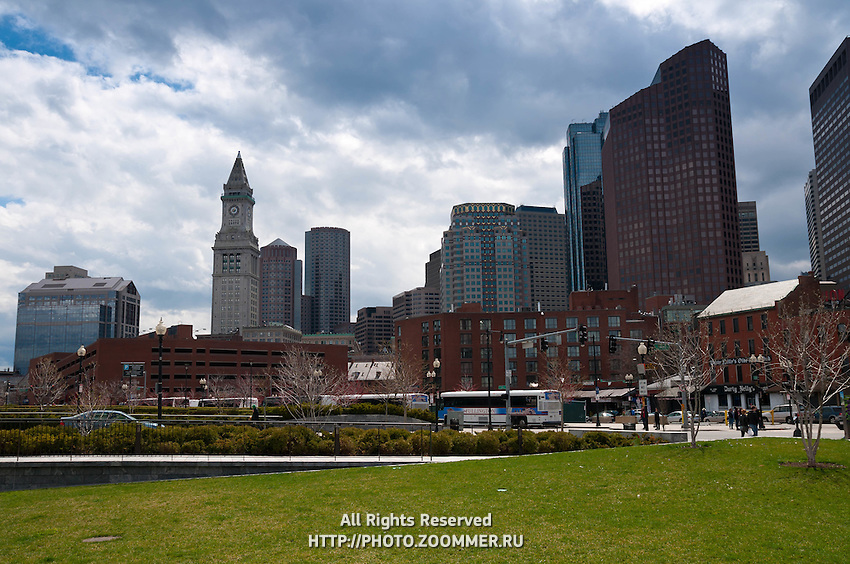 Rose Kennedy greenway, North End, Boston, MA