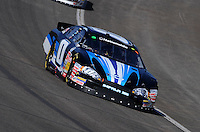 Oct. 10, 2009; Fontana, CA, USA; NASCAR Nationwide Series driver Jeremy Clements during the Copart 300 at Auto Club Speedway. Mandatory Credit: Mark J. Rebilas-