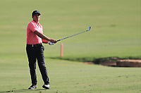 Julian Suri (USA) on the 18th fairway during Round 4 of the DP World Tour Championship 2017, at Jumeirah Golf Estates, Dubai, United Arab Emirates. 19/11/2017<br /> Picture: Golffile | Thos Caffrey<br /> <br /> <br /> All photo usage must carry mandatory copyright credit     (© Golffile | Thos Caffrey)