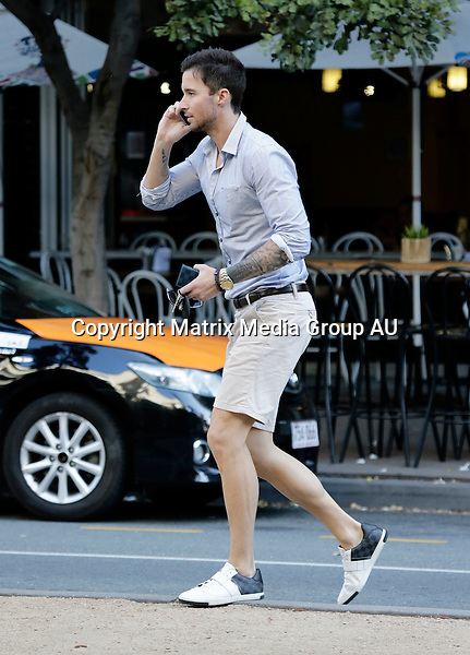 7 OCTOBER 2015 BRISBANE QLD<br /> <br /> EXCLUSIVE PICTURES<br /> <br /> Michael Turnbull pictured looking very metro for a lunch date with his parents in Brisbane.