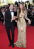 "Adrien Brody & Lara Nieto attend "" Cleopatra "" Premiere during the 66th cannes Film Festival"
