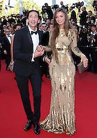 "Adrien Brody & Lara Nieto attend "" Cleopatra "" Premiere during the 66th cannes Film Festival"