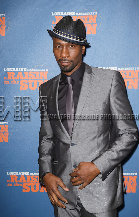 Leon Preston Robinson attending the Broadway Opening Night Performance of 'A Raisin In The Sun'  at the Barrymore Theatre on April 3, 2014 in New York City.