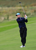 Luke O'Neill (Galway) on the 14th fairway during the Connacht Final of the AIG Barton Shield at Galway Bay Golf Club, Galway, Co Galway. 11/08/2017<br /> <br /> Picture: Golffile | Thos Caffrey<br /> <br /> <br /> All photo usage must carry mandatory copyright credit     (&copy; Golffile | Thos Caffrey)