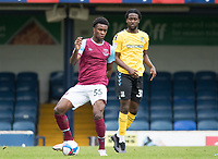 Sean Adarkwa, West Ham U21's in action during Southend United vs West Ham United Under-21, EFL Trophy Football at Roots Hall on 8th September 2020