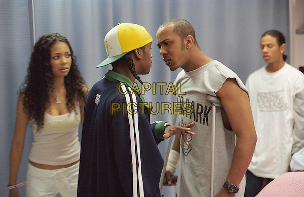JENNIFER FREEMAN, OMARI GRANDBERRY, MARQUES HOUSTON & DREUX FREDERIC.in You Got Served.Filmstill - Editorial Use Only.Ref: FB.www.capitalpictures.com.sales@capitalpictures.com.Supplied by Capital Pictures