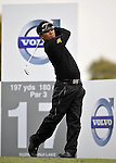 SUZHOU, CHINA - APRIL 15:  Thongchai Jaidee of Thailand tee off on the 17th hole during the Round One of the Volvo China Open on April 15, 2010 in Suzhou, China.  Photo by Victor Fraile / The Power of Sport Images
