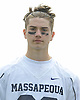 James DeTommaso of Massapequa poses for a portrait before a non-league varsity boys lacrosse game at Burns Park on Saturday, Mar. 26, 2016.