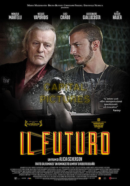ORIGINAL ITALIAN POSTER ART<br /> in The Future (2013) <br /> (Il futuro)<br /> *Filmstill - Editorial Use Only*<br /> CAP/FB<br /> Image supplied by Capital Pictures