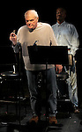 during the Curtain Call for the 10th Anniversary Production of 'The Exonerated' at the Culture Project in New York City on 9/19/2012.