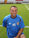 Ali Uzunhasanoglu (Goalkeeping Coach) at the Stevenage FC team photo shoot at The Lamex Stadium, Broadhall Way, Stevenage on Saturday, 24th July, 2010.© Kevin Coleman 2010