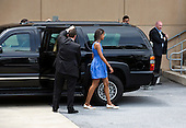 Malia Obama, daughter of United States President Barack Obama, walks into the Strathmore Music Center in Bethesda, Maryland, on Sunday, June 16, 2013. The Obama's were attending a dance performance with where their daughter Sasha was performing. <br /> Credit: Joshua Roberts / Pool via CNP