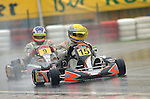 Lewis Hamilton & Michael Schumacher first went head to head at the CIK world championship final round at Kerpen  in October 2001, Vitantonio Liuzzi took the world title for Formula Super A.