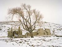 Ruin in Khandud town, Wakhan Corridor, Afghanistan.