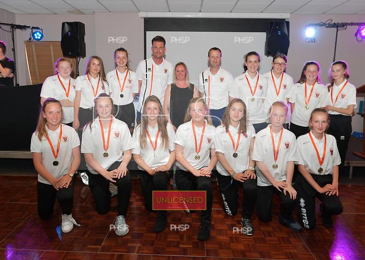 01/06/2018 Blackpool FC Girls Presentaton 2018