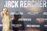 """ATENCAO EDITOR IMAGEM EMBARGADA PARA VEICULOS INTERNACIONAIS - MADRI, ESPANHA, 13 DEZEMBRO 2012 - PRE ESTREIA """"JACK REACHER - A atriz Rosamund Pike durante pre estreia espanhola do filme """"Jack Reacher""""no Callao Cinema em Madri capital da Espanha, nesta quinta-feira, 13. (FOTO: Alfaqui/ BRAZIL PHOTO PRESS)."""