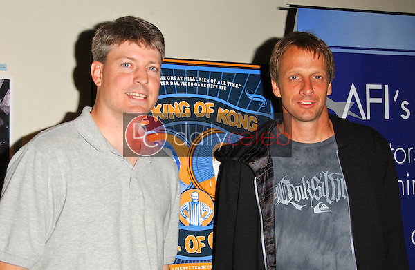 Steve Wiebe and Tony Hawk<br />