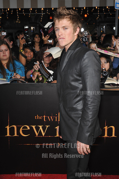"Charlie Bewley at the world premiere of his new movie ""The Twilight Saga: New Moon"" at Mann Village & Bruin Theatres, Westwood..November 16, 2009  Los Angeles, CA.Picture: Paul Smith / Featureflash"