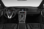 Stock photo of straight dashboard view of 2017 Volvo S60 T5 4 Door Sedan Dashboard