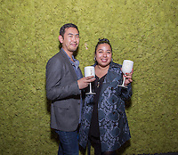 Leonard Kim and Jen Awad attend the VIP Preview of The Camden Lifestyle at Hollywood + Vine on April 26, 2016 (Photo by Inae Bloom/Guest of a Guest)