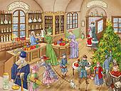 Marcello, CHRISTMAS LANDSCAPES, WEIHNACHTEN WINTERLANDSCHAFTEN, NAVIDAD PAISAJES DE INVIERNO, paintings+++++,ITMCXM1194,#xl#