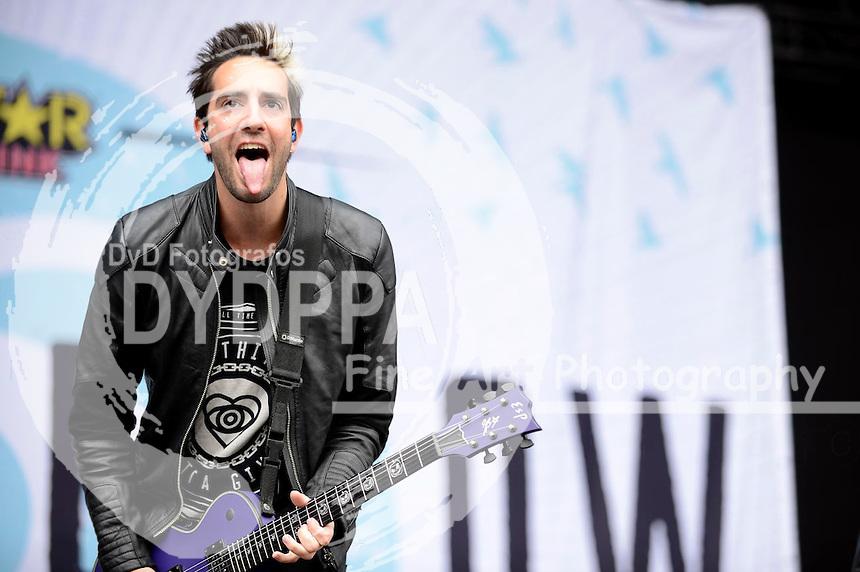 All Time Low live auf dem 19. Hurricane Festival 2015 am Eichenring. Scheeßel, 21.06.2015